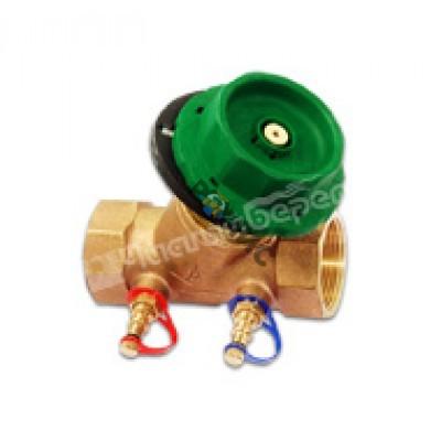 Клапан балансировочный RC2105 Ду 32 Pn20 (с измерит.ниппелями) Kvs=12,5 RC2105-0032 Франция