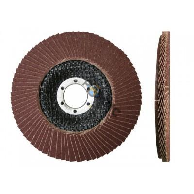 Круг лепестковый 125х22мм плоский А100 , КТЛ1 (Луга)