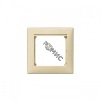 Рамка 1-м VALENA слоновая кость