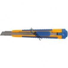 Нож пистолетный сегм., лезвие 9мм, рукоятка 2К, LIDER