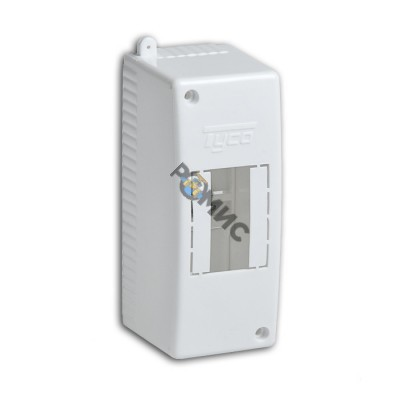 Бокс ОП 2м Тусо IP30 белый Рувинил 68022, РФ