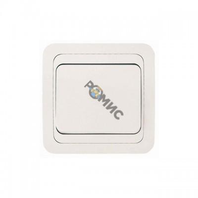 Выключатель 1-кл. СП Mimoza белая 12001