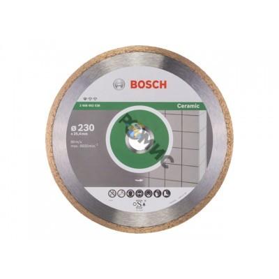 Алмазный круг 230х25,4мм керамика Professional (BOSCH) (2608602538) Германия