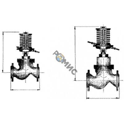 Регулятор перепада давления РПД-32 (0,05-0,2МПа) РБ