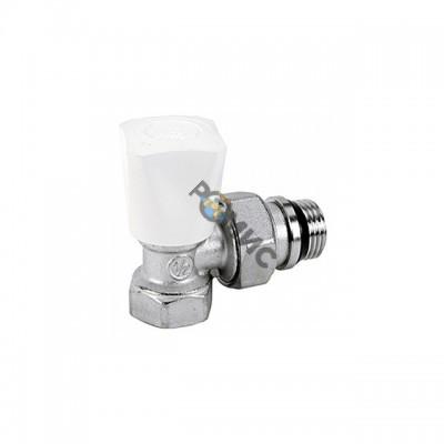 Клапан ручной угловой д/радиатора МР Ду 15 GIACOMINI  код: R705Х013