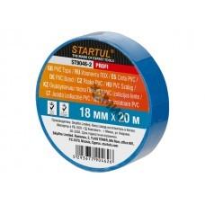 Изолента ПВХ синяя 18ммх20м STARTUL PROFI (ST9046-2)
