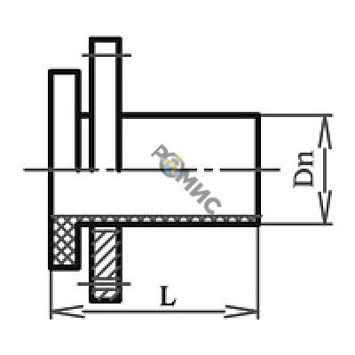 Бурт сварной фланцевый ПЭ100-SDR17 Ду-160 питьевой ТУ ВУ 812000420,002-2010 РБ