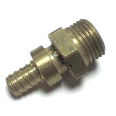 Соединитель двустор. под натяжное кольцо с манжетой с наруж.резьбой 32х4.4 G1