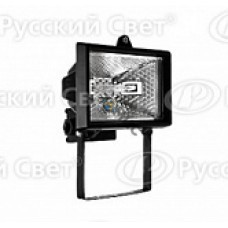 Прожектор галогеновый NFL-FH1-150-R7s/BL (ИО 150вт черн.) 4607136946019, РФ