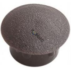 Заглушка декоративная под отверстие D16, темно-коричневая (упак/1.000шт), РФ