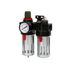 Фильтр воздушный ECO AU-03 с регулятором давления и маслораспылителем (1/4