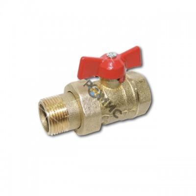 Кран шаровой DN 15 (МР)11Б27п9 (вода) со сгоном