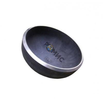 Заглушка Ду  45 стальная элипсная