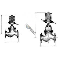 Регулятор перепада давления РПД-50 (0,1-0,4МПа) РБ