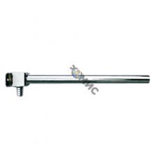Отвод под натяжное кольцо с никелированной трубкой Сu15, L=300мм(латунный)18х2,5 арт.9016.020 Польша