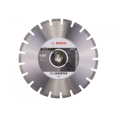Алмазный круг 350х20/25,4мм асфальт Professional (2608602625)