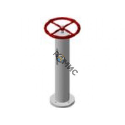 Колонка управления задвижкой Ру10 Ду 200 длина штока L=5100 c ручным управлением, без закладн