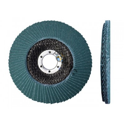 Круг лепестковый 125х22мм плоский ZK 80 ST КТЛ1 (Луга)