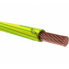 Провод ПВ-3  2,5/ПуГВ 1х2,5 жел/зеленый