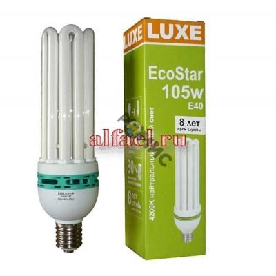 Лампа энергосберегающая  ST 5U 105W 6400 ECO STAR E40 6400K, РФ