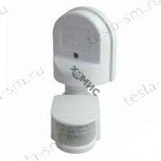 Датчик движения  настенный  ДДС-01 1100Вт, 5-480с, 2-12м, 5+Лк, 180гр, IP44, TDM/РФ/