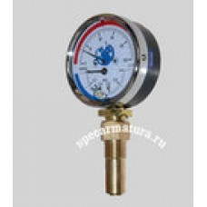 Термоманометр ТМТБ-31Р.1(0-120С)(0-0,6МПа) G1/2 2.5, Россия