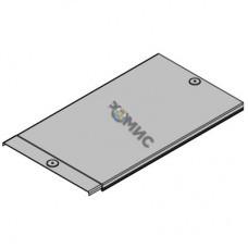 Крышка для лотка осн. 50 с заземл. L2000 (дл.2м) сталь 0,6 мм ДКС 35510,  РФ