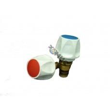 Головка вентильная ГВ-15 с махов. р/затв.М18х1мм ( инд.упаковка) РБ