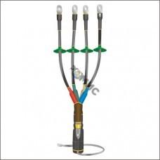 Муфта кабельная концевая наруж. уст. 1кВ КНТпН 4х(35-50мм) с наконеч. Нева-Транс 22020096, РФ