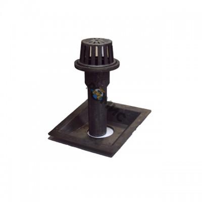 Воронка водоприемная чугунная М-100.2 (Н600) (4 эл-та в комплекте)