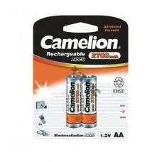Аккумулятор R6 NI-MN (2700mAh) BP-2 (блист.2шт) Camelion 7371, РФ
