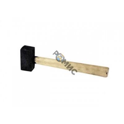 Кувалда 6,0кг кованая, деревянная ручка