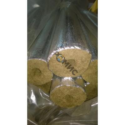 Цилиндр теплоизоляционный фольгированный Ц100/А-1000. 57.30 1м РБ