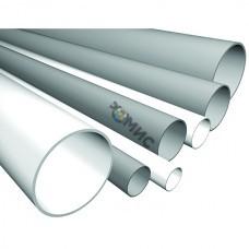 Труба ПВХ жест.гладкая  D40мм СВ  (дл. 3м.) цвет серый, РФ