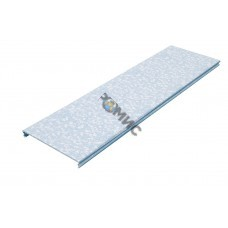 Крышка для лотка осн.150 L3000 сталь 0.55мм KL150х3000 оцинк. КМ LO0511, РФ