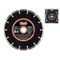 Алмазный круг 180х22мм универс. сегмент. GEPARD (сухая резка) (GP0801-180)