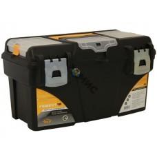 Ящик для инструмента 18 ГЕФЕСТ мет.замки 43х23,5х25 см.( с коробками) пластмассовый М2942