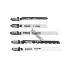 Набор пилок лобз. 5шт. универс. GEPARD (GP0600-5)
