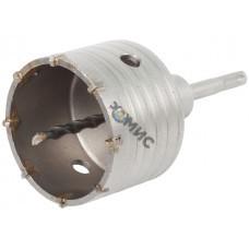 Полая коронка SDS+ d82мм (в сборе)  уд.сверления GEPARD (GP2150-82)