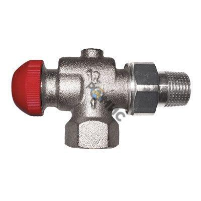 Клапан термостатический ГЕРЦ-TS-90-V угловой осевой специальный из латуни 1772867 (HERZ. Австрия) стр.ввоза Польша