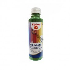 Краска акрил. в/д Alpina Kolorant Зеленый 500мл