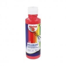 Краска акрил. в/д Alpina Kolorant Красный 500мл
