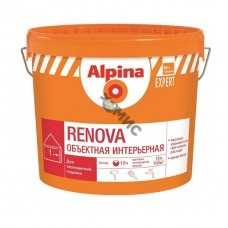 Краска Alpina EXPERT Renova белая 10 л