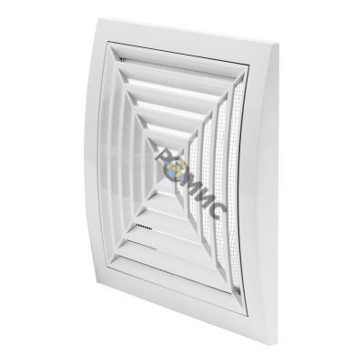 Вентиляционная решетка потолочная 190 x 190мм, д125мм пластм. ND12G