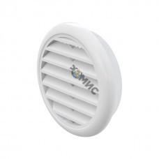 Решетка вентиляционная, пластмассовая, д125мм VR125
