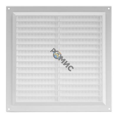 Решетка вентиляционная, пластмассовая, квадратная, 250x250мм, VR2525