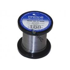 Припой оловянный d1,0мм ПОС 61 проволока, без канифоли, (олова 61%), катушка (100г)