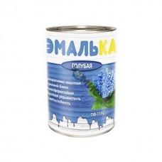 Эмаль ПФ 115 голубая ЭМАЛЬКА  0,9 л