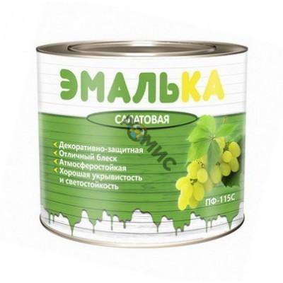Эмаль ПФ 115 зелёная  2,0л ЭМАЛЬКА
