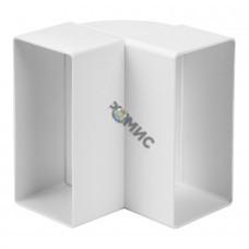 Колено пластмассовое вертикальное, 110х 55мм, 90гр KLV